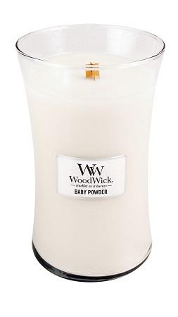 WoodWick Large Candle - Baby Powder-0