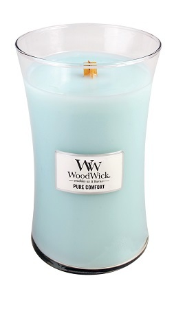 WoodWick Large Candle - Pure Comfort-0