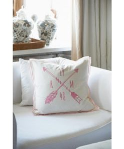 1948 Pillow Cover White/Pink 50x50, Rivièra Maison-0