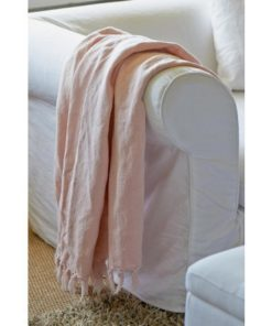 Shelter Island Summer Throw 170x130 Peaony Pink , Rivièra Maison-0