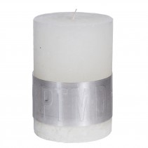 Rustic Candle Hot White, PTMD-3882