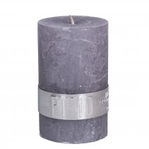 Rustic Candle Suede Grey, PTMD-3863