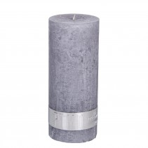 Rustic Candle Suede Grey, PTMD-3864