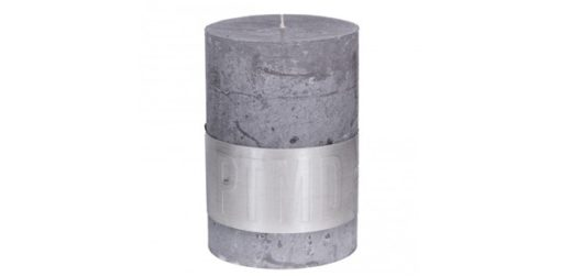 Rustic Candle Suede Grey, PTMD-3859