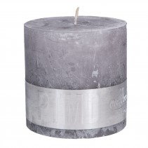 Rustic Candle Suede Grey, PTMD-3865