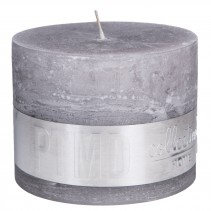 Rustic Candle Suede Grey, PTMD-3866