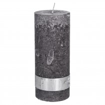 Rustic Candle Swish Grey, PTMD-3872
