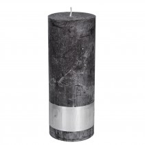 Rustic Candle Swish Grey, PTMD-3842