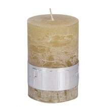 Rustic Candle Yellow, PTMD-0