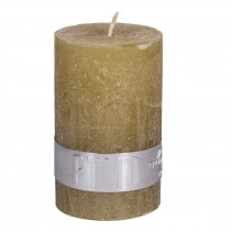 Rustic Candle Yellow, PTMD-3925