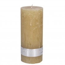 Rustic Candle Yellow, PTMD-3926