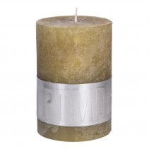 Rustic Candle Yellow, PTMD-3927