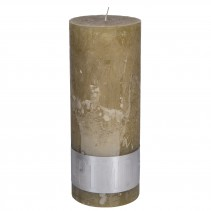 Rustic Candle Yellow, PTMD-3930