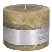 Rustic Candle Yellow, PTMD-3929