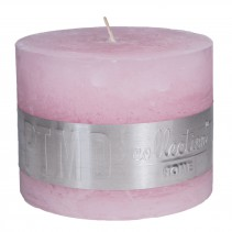 Rustic Candle New Pink, PTMD-3893