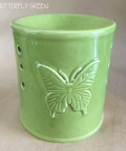 Oil Burner Butterfly Green-0
