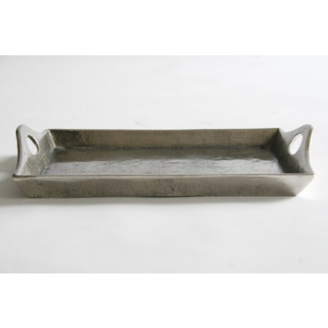 Rough aluminium tray short, PTMD-0