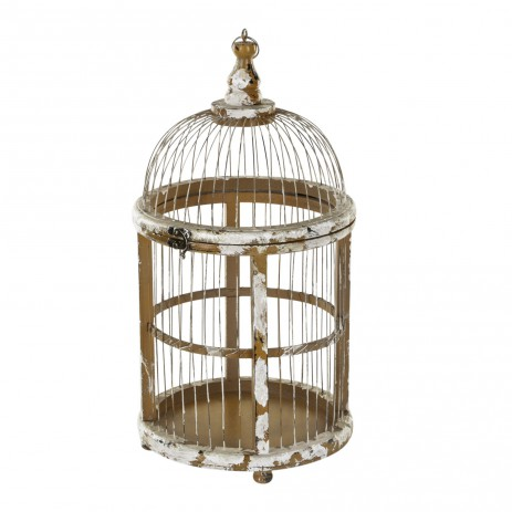 Simple wood small birdcage, PTMD-0