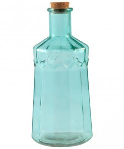 Amazing green clear Glass bottle L, PTMD-0