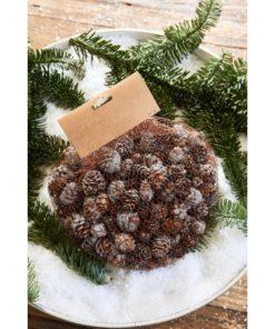 Vermont Mini Pine Cone silver, Rivièra Maison-0