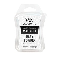 WoodWick -Baby Powder- Mini Wax Melt-0
