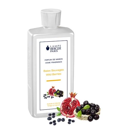 Parfum - Baies Sauvages - Wild Berries - 500 ML - Lampe Berger-0