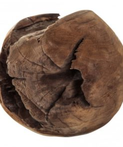 Teak brown deco ball, PTMD-0
