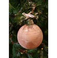 Canterbury Ornament peach Dia 12cm, Rivièra Maison-0