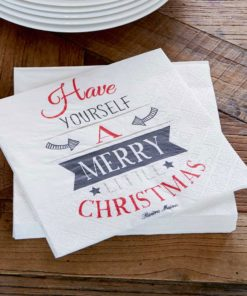 Have yourself a… paper napkin, Rivièra Maison-0