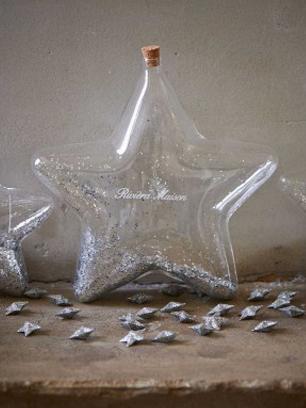 Big Star Decoration Bottle Silver - Rivièra Maison-0