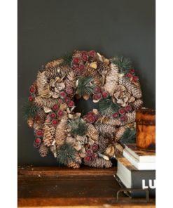 Classic Christmas Wreath Dia 33 - riviera maison-0