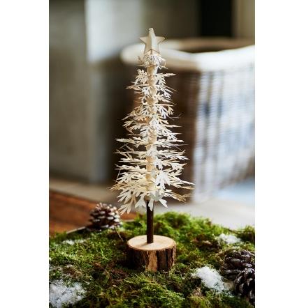 Paper Christmas Tree white M   Rivièra Maison-0