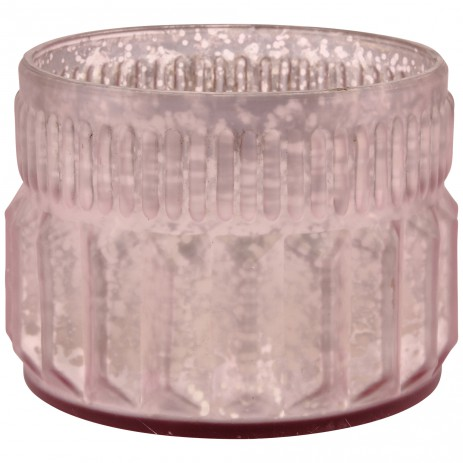 Marine Glass round tealight -verschillende kleuren- PTMD-4588