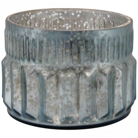 Marine Glass round tealight -verschillende kleuren- PTMD-0