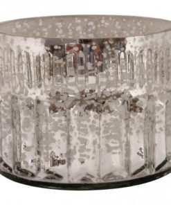 Marine Glass round tealight -verschillende kleuren- PTMD-4590