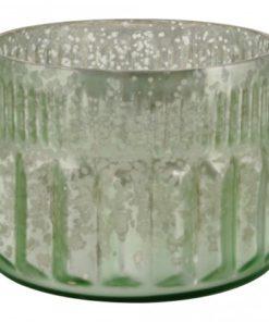 Marine Glass round tealight -verschillende kleuren- PTMD-4589