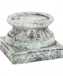 Cement grey candle holder, in verschillende maten - PTMD-4618