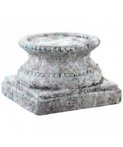 Cement grey candle holder, in verschillende maten - PTMD-4617