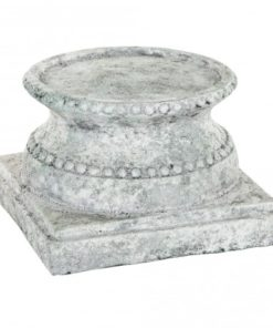 Cement grey candle holder, in verschillende maten - PTMD-0