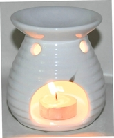 Oil Burner Ribbon White-0