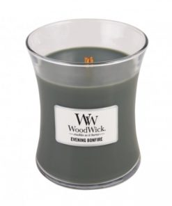 WoodWick Medium Candle - Evening Bonfire-0
