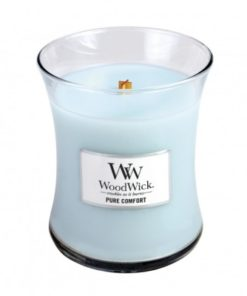 WoodWick Medium Candle - Pure Comfort-0