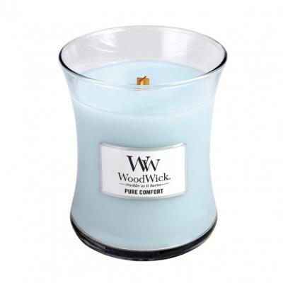 WoodWick Medium Candle - Pure Comfort-0