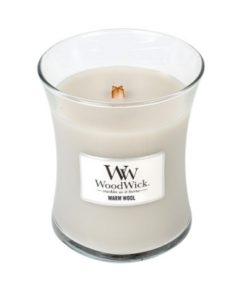 Woodwick Medium Candle - Warm Wool-0