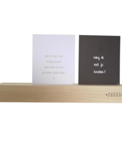 Kaartenstandaard 31cm of 12cm, Zusss-0