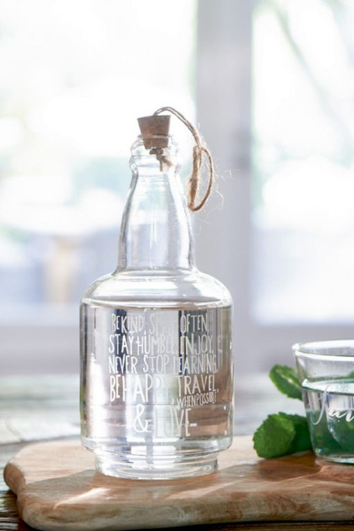 Be Happy, Travel & Love Bottle - Rivièra Maison -0