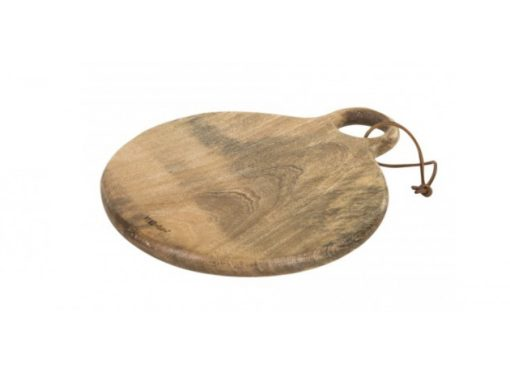Raft wood brown chopping board round - PTMD-0
