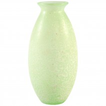 Laguna green Glass vase belly round L, PTMD-0