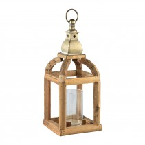 Ace wood natural square lantern S, PTMD-0