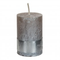 Rustic Candle Metallic taupe, verschillende maten, PTMD-4881